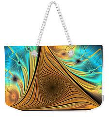Weekender Tote Bag featuring the digital art Element by Anastasiya Malakhova