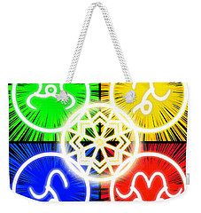 Weekender Tote Bag featuring the digital art Elements Of Consciousness by Shawn Dall