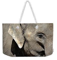 Elephant Close Up Weekender Tote Bag