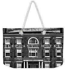 Elephant Hotel Weekender Tote Bag