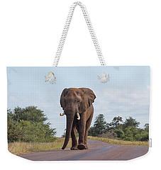 Elephant In Kruger Weekender Tote Bag