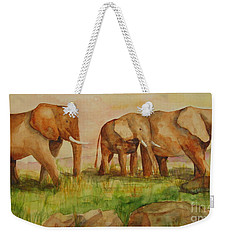 Elephant Parade Weekender Tote Bag