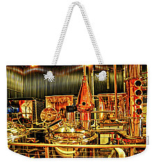 Elevated Mountain Distillery Weekender Tote Bag by Dennis Baswell