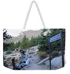 Weekender Tote Bag featuring the photograph Elevation 11,500 by Christin Brodie