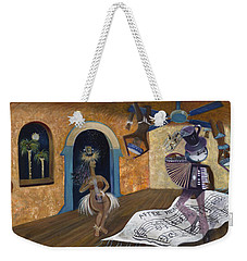 Eleven Minutes After Midnight Weekender Tote Bag