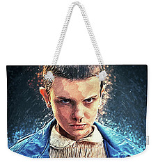 Eleven Weekender Tote Bag by Taylan Apukovska