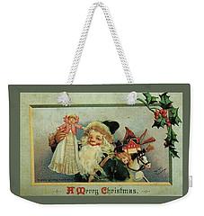 Elf Christmas Weekender Tote Bag