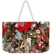 Elf In A Tree Weekender Tote Bag