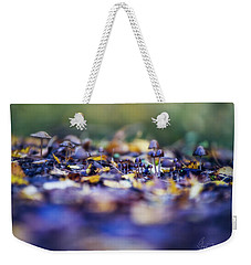 Weekender Tote Bag featuring the photograph Elfin World by Gene Garnace