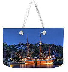 Elizabeth II At Dock Weekender Tote Bag