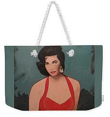 Elizabeth Taylor - Absolutely Beautiful Weekender Tote Bag