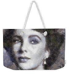 Elizabeth Taylor By Sarah Kirk Weekender Tote Bag