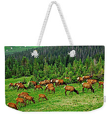 Elk Highlands Weekender Tote Bag