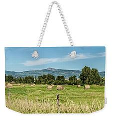 Elk River Valley Harvest Weekender Tote Bag by Daniel Hebard