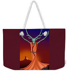 Elk Spirit Weekender Tote Bag