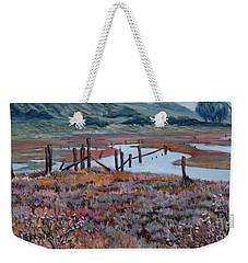 Elkhorn Slough Morning Weekender Tote Bag