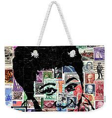 Lady Ella Fitzgerald Weekender Tote Bag