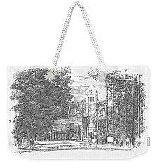 Weekender Tote Bag featuring the photograph Ellaville, Ga - 1 by Jerry Battle