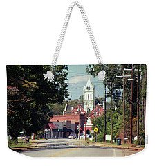 Weekender Tote Bag featuring the photograph Ellaville, Ga - 2 by Jerry Battle
