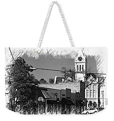 Weekender Tote Bag featuring the photograph Ellaville, Ga - 3 by Jerry Battle