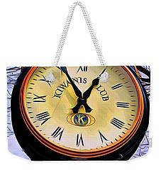 Ellicott City Clock Weekender Tote Bag