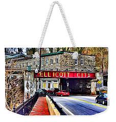 Ellicott City Weekender Tote Bag
