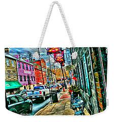 Ellicott City Street Weekender Tote Bag