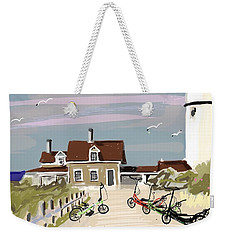 Elliptigo Art Weekender Tote Bag