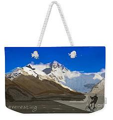 Elliptigo Everesting Weekender Tote Bag