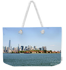 Ellis Island New York City Weekender Tote Bag