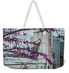 Weekender Tote Bag featuring the photograph Ellsworth Blooms by Darren White