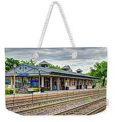 Elmhurst Il Metra Station 2018 Weekender Tote Bag
