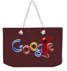 Elmo Google T-shirt Weekender Tote Bag