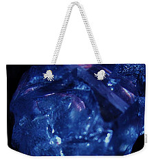 Elongated Crystal Skull Weekender Tote Bag