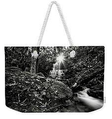 Elora Falls In Black And White Weekender Tote Bag