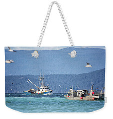 Weekender Tote Bag featuring the photograph Elora Jane by Randy Hall