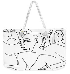 Elroy Was Not So Forgiving This Time Weekender Tote Bag