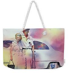 Elsie And Barney Shields Weekender Tote Bag