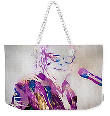 Elton John Weekender Tote Bag by Dan Sproul
