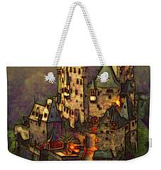 Eltz Castle Weekender Tote Bag by Michael Cleere