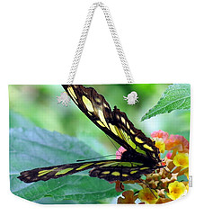 Elusive Butterfly Weekender Tote Bag by Betty Buller Whitehead