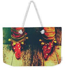 Elves And Feet Weekender Tote Bag