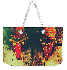 Elves And Feet Weekender Tote Bag