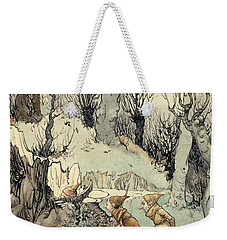 Elves In A Wood Weekender Tote Bag