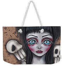 Elvira Weekender Tote Bag by Abril Andrade Griffith