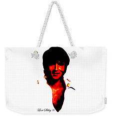 Elvis By Loxi Sibley Weekender Tote Bag by Loxi Sibley