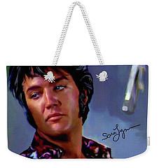 Elvis Presley Art 10 Weekender Tote Bag