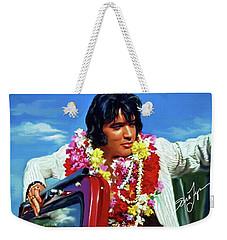 Elvis Presley Art 21 Weekender Tote Bag
