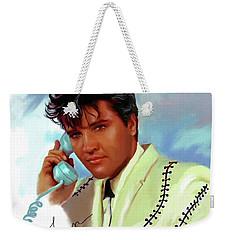 Elvis Presley Art 22 Weekender Tote Bag