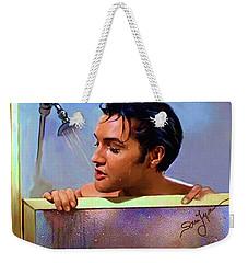 Elvis Presley Art 24 Weekender Tote Bag